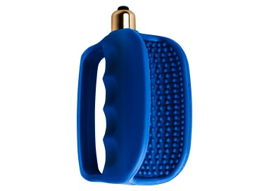 Masturbatore Vibrante Design - Hand Solo 7 Speed Blue - Rocks Off