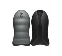 sexy shop online i trasgressivi Masturbatore Vibrante Design - Heating Stroker Vibrating Black - Doc Johnson