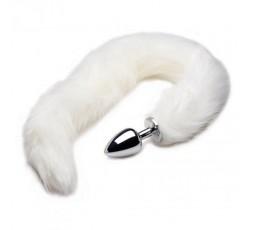 Sexy Shop Online I Trasgressivi - Plug Con Coda - Extra Long Arctic Mink Tail Metal Anal Plug - Play Hard