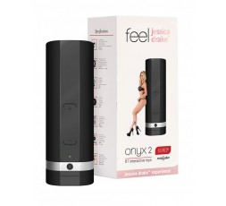 Sexy Shop Online I Trasgressivi Masturbatore Vibrante Design - Onyx 2 Male Masturbator Jessica Drake - Kiiroo