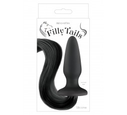 Sexy Shop Online i Trasgressivi - Plug Con Coda - Filly Tails Black - NS Novelties