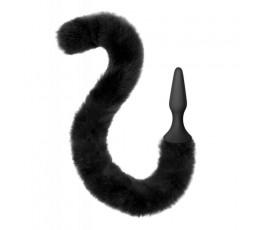 Sexy Shop Online I Trasgressivi - Plug in silicone con coda da gatta nera - Sweet Caress