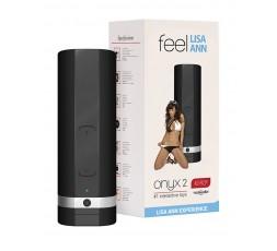 Sexy Shop Online I Trasgressivi - Masturbatore Vibrante Design - Onyx 2 Male Masturbator Lisa Ann - Kiiroo