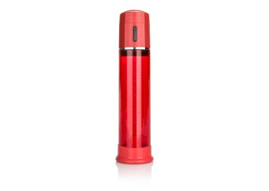 Sviluppatore Pene - Advanced Firemans Pump Red - California Exotic Novelties