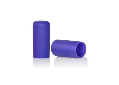 Pompe Per Capezzoli - Silicone Nipple Suckers Purple - California Exotic Novelties