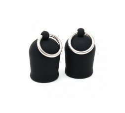 Sexy Shop Online I Trasgressivi - Pompe Per Capezzoli - Nipple Suckers With Ring - Rimba