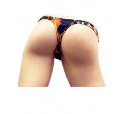 Sexy Shop Online I Trasgressivi - Slip Transgender By Ivete Pessoa - Calcinha Maculato Scuro - Ivete Pessoa