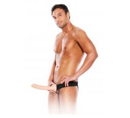 sexy shop online i trasgressivi Strap-On Uomo - 10 Inch Hollow Strap-On Skin - Pipedream