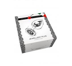 sexy shop online i trasgressivi Plug Anale Metallo - Jewellery in Silver - Large Orange - Dolce Piccante