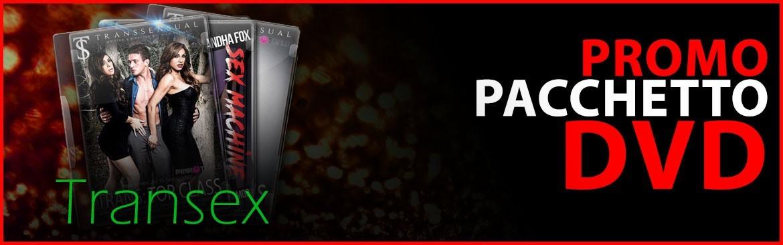 Pacchetto offerta 3 DVD Transex