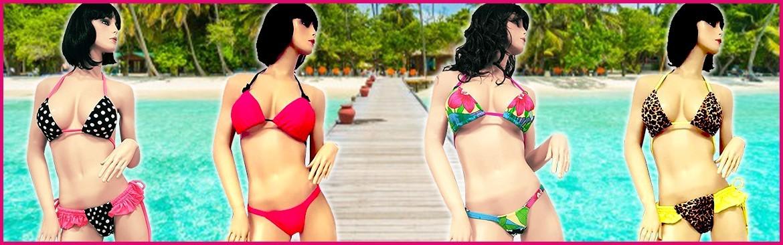 Costumi Mare Bikini Donna