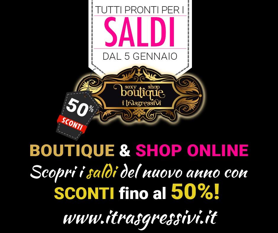 Saldi 2019 I Trasgressivi Sexy Shop Online